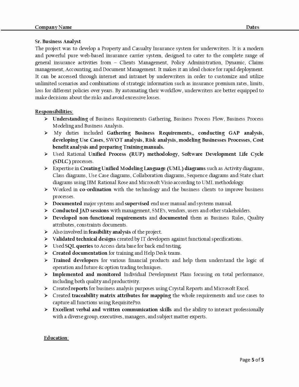 Sample Business Analyst Resume Luxury H1b Sponsoring Desi Consultancies In The United States Business Analyst Resume Business Analyst Standard Resume Format