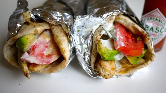 Homemade gyro recipe from my favorite blog :)