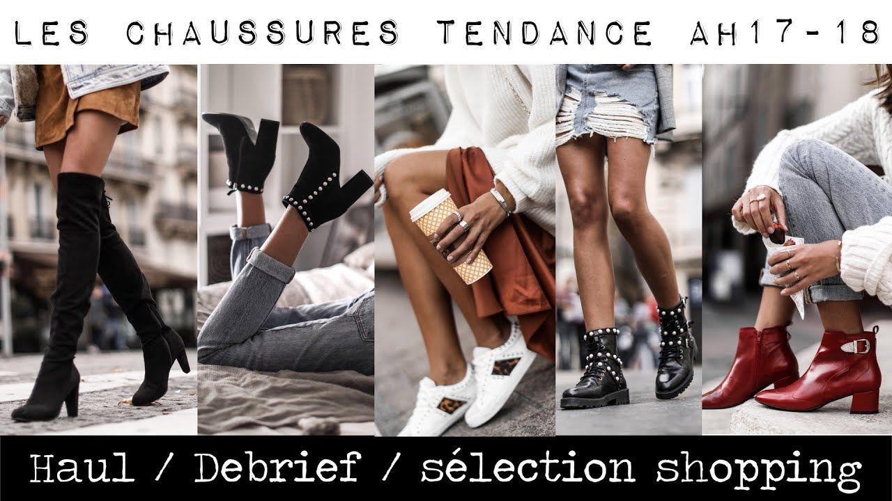 Les Chaussures Tendance De L Hiver Haul Debrief Youtube Beauty