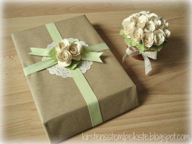 Kirsten Stempelkiste: Geschenke schön verpacken