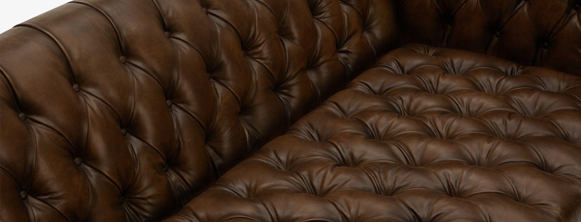 Vaughn Leather Apartment Sofa Sofabed In 2019 Apartment Sofa