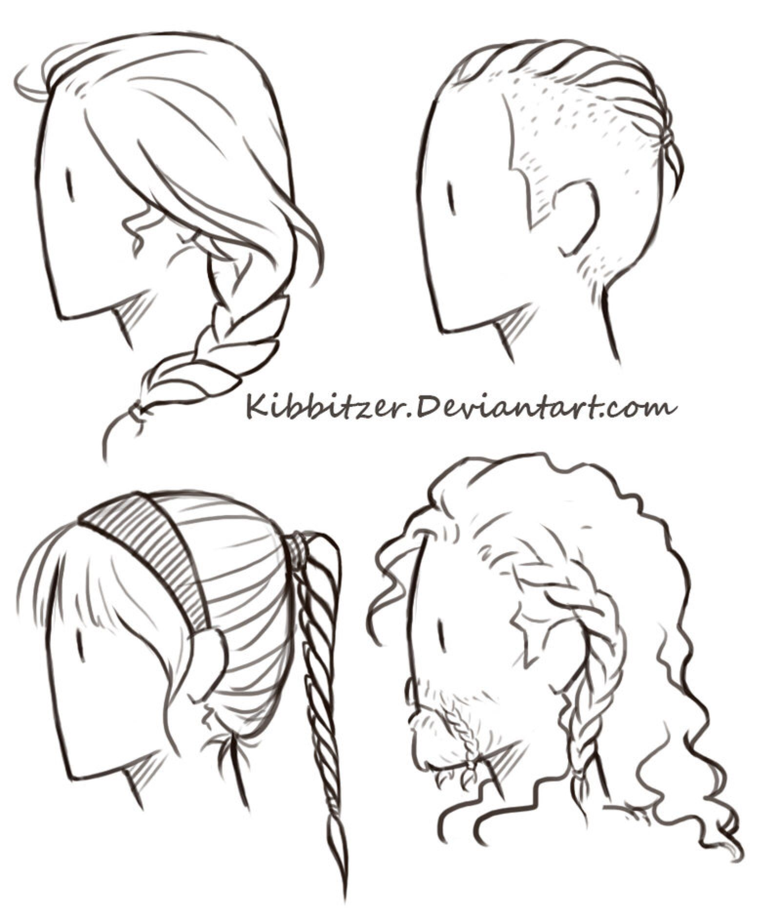 Braids reference sheet by kibbitzer on deviantart animemanga braids reference sheet by kibbitzer on deviantart lol last ones mustache is braided xd hexwebz Choice Image