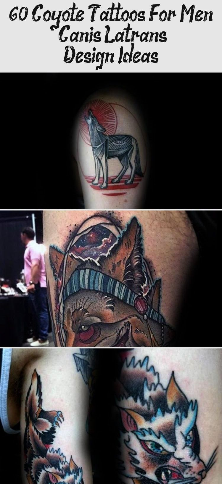 Coyote Tattoos For Men  Canis Latrans Design Ideas  Best Tattoos  60 Coyote Tattoos For Men  Canis Latrans Design Ideas 60 Coyote Tattoos For Men  Canis Latrans Design Id...