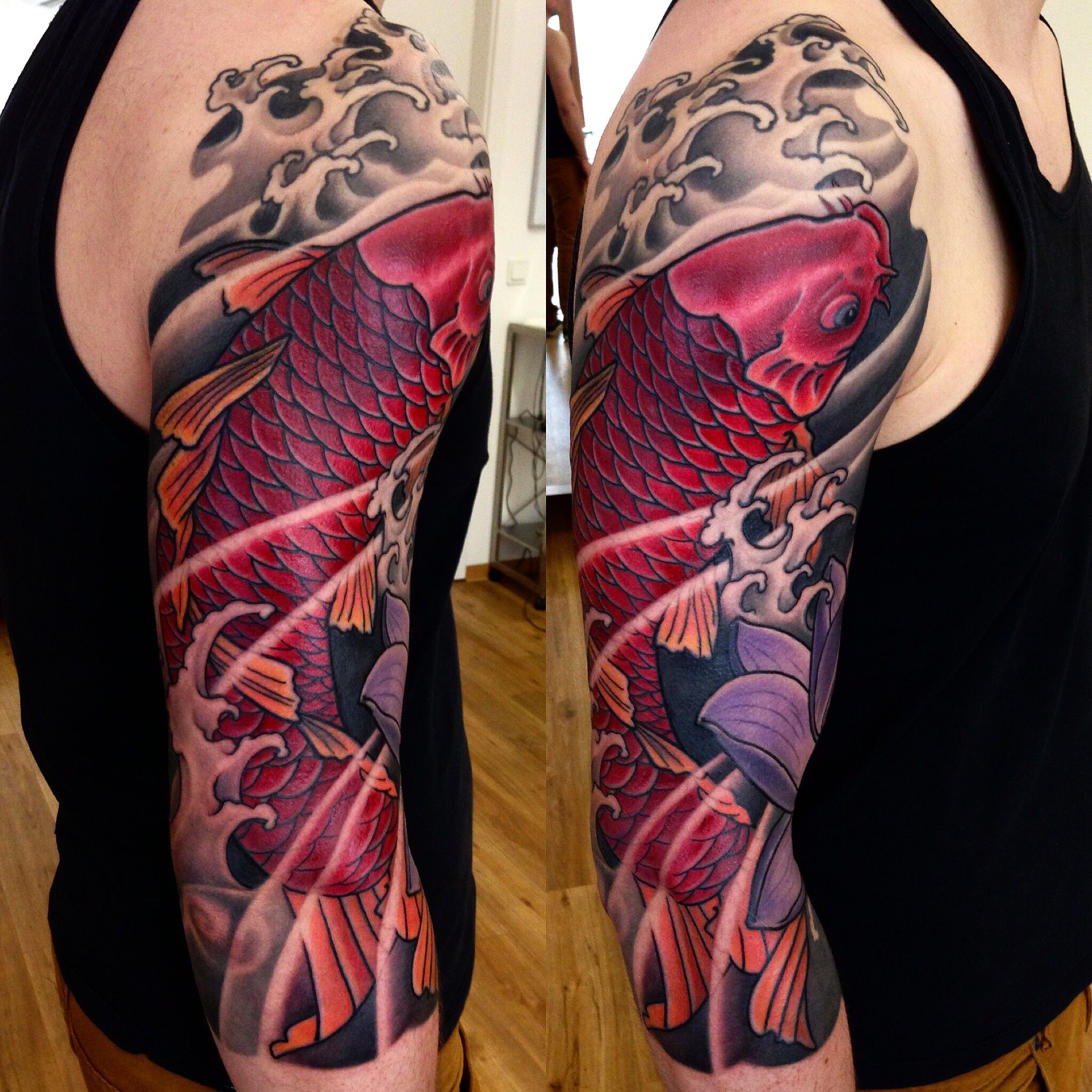 JAPANESE TATTOO -GEORGE BARDADIM - TATTOO ARTIST NYC | Pinterest ...