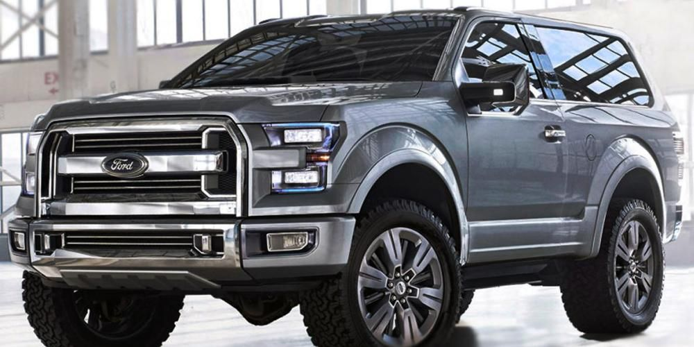New Ford Bronco 2018 Price Interior Release Date Specs Pics