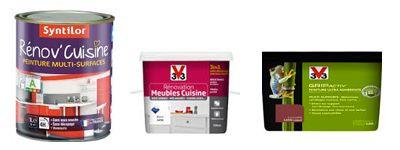 peinture meuble de cuisine : le top 5 des marques