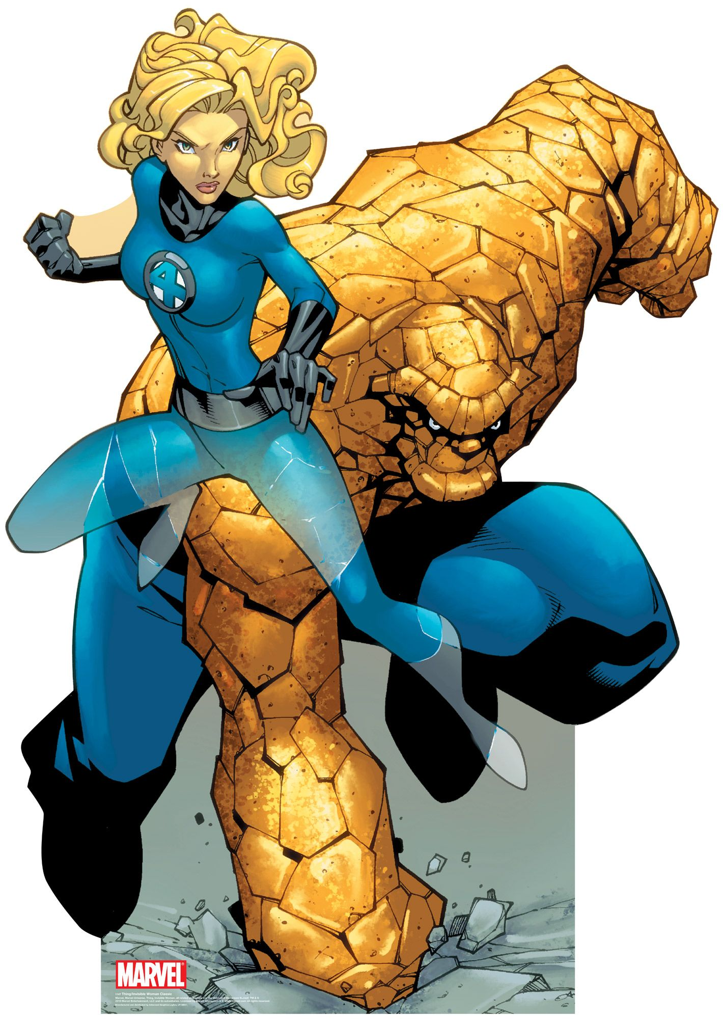 Image result for the thing and invisible woman