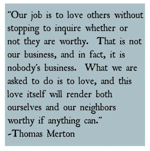 Love Is Our Task.