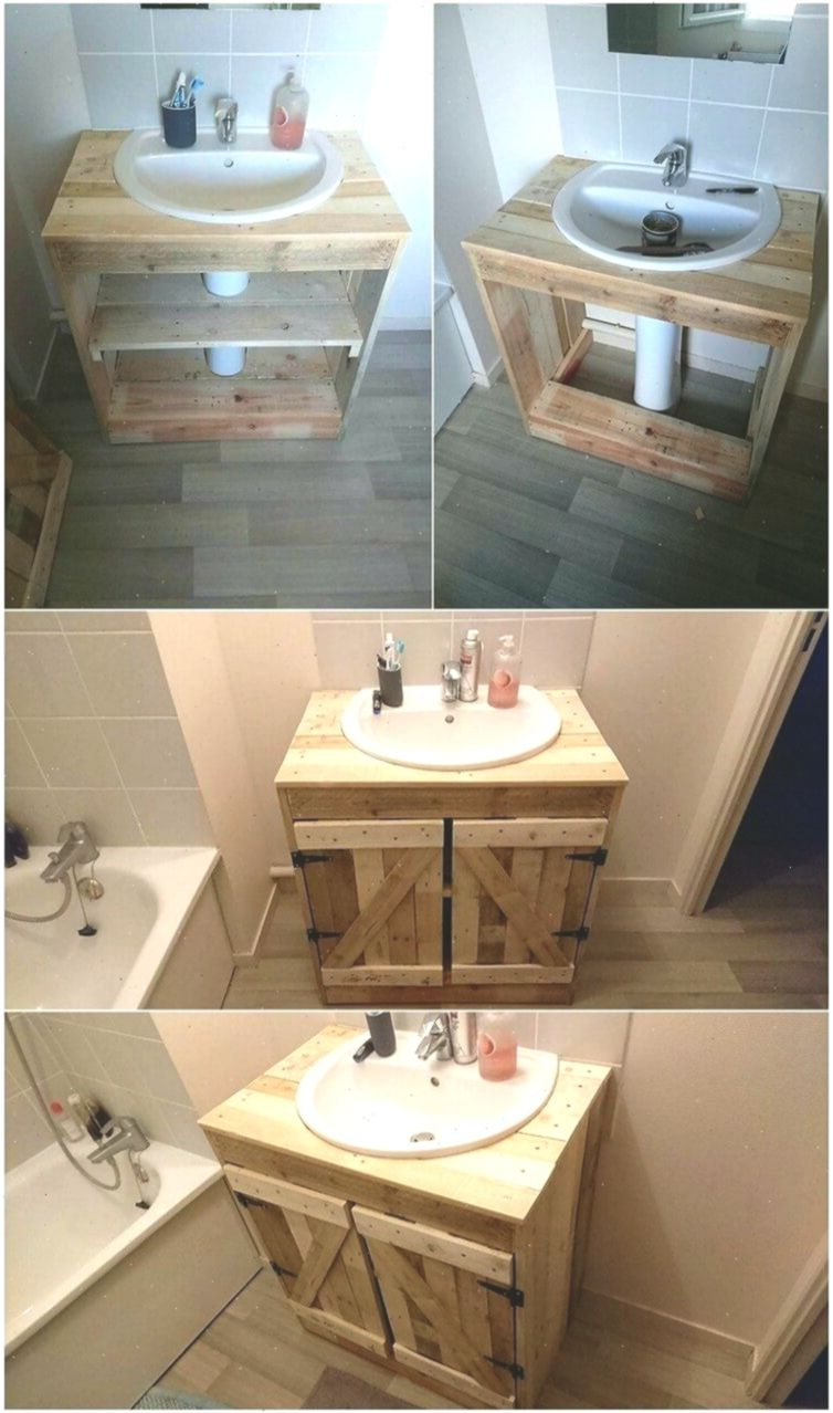 Grenzenlose Ideen Mit Alten Versandholzpaletten Palettenprojekte Wholepalletprojects Wood Pallets Pallet Home Decor Pallet Bathroom