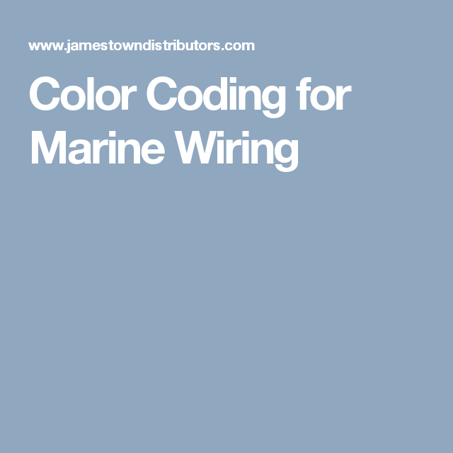 Blue Marine Boat Wiring Color - All Kind Of Wiring Diagrams •