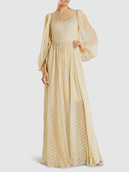 Mosaic Chiffon Ally Maxi Dress | Stine Goya