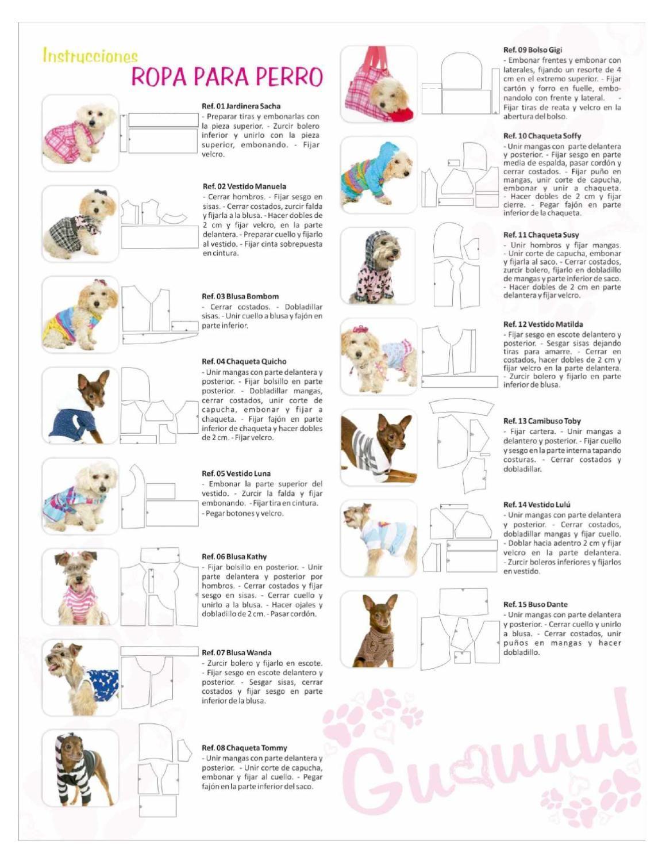 Revista de Ropa para Perros | perros y gatos tejidos | Pinterest ...