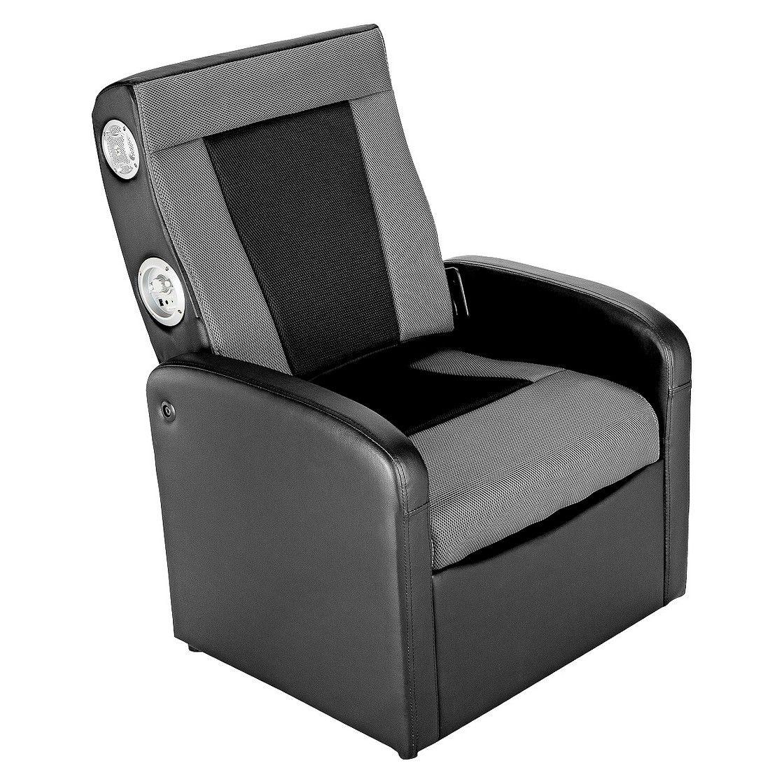ACE BAYOU XRocker Gaming Chair Black/Grey Bean bag