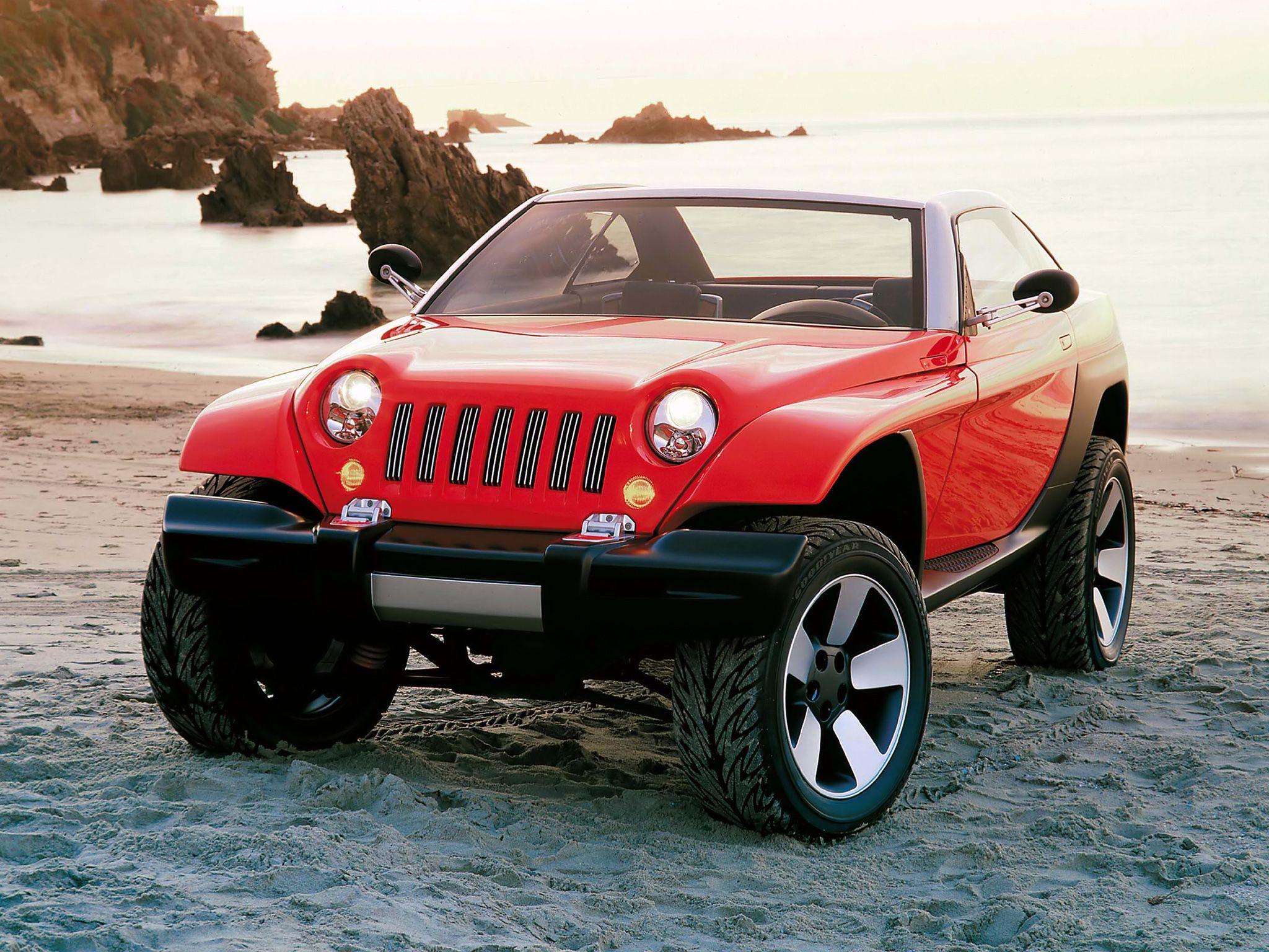 1998 Jeep Jeepster Concept Jeep Concept Jeepster Concept Cars