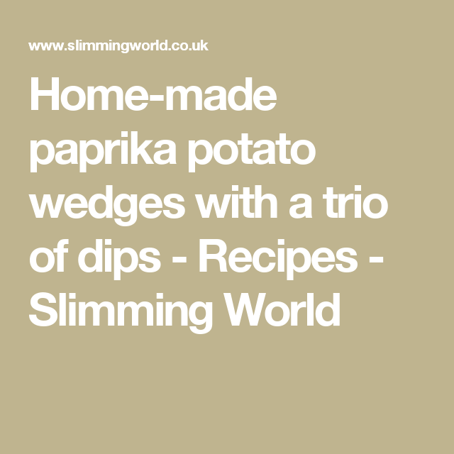 Home Made Paprika Potato Wedges With A Trio Of Dips