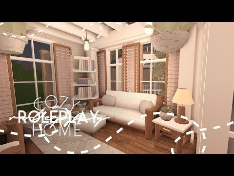Roblox Bloxburg Cozy Roleplay Home House Build Youtube In