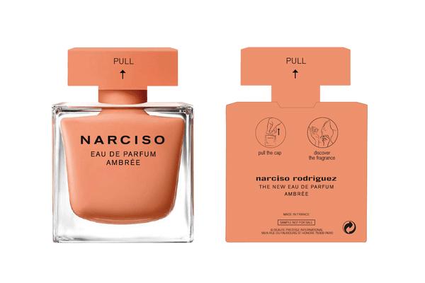 Luxury eau du parfum trio samples