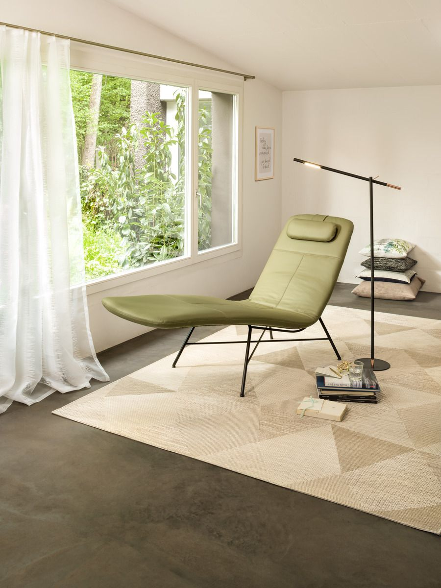 liege wohnzimmer design  Lounge chair, Floor chair, Home decor
