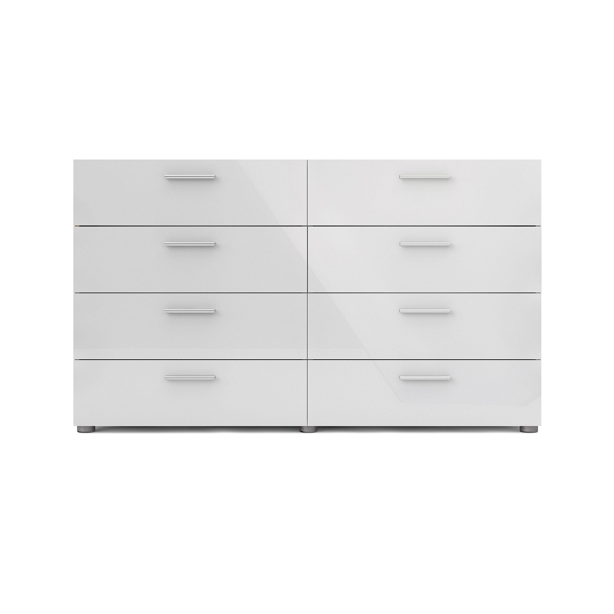 Tvilum Loft 8 Drawer Double Dresser Multiple Colors Walmart Com Modern Dresser Double Dresser Tvilum [ 2500 x 2500 Pixel ]