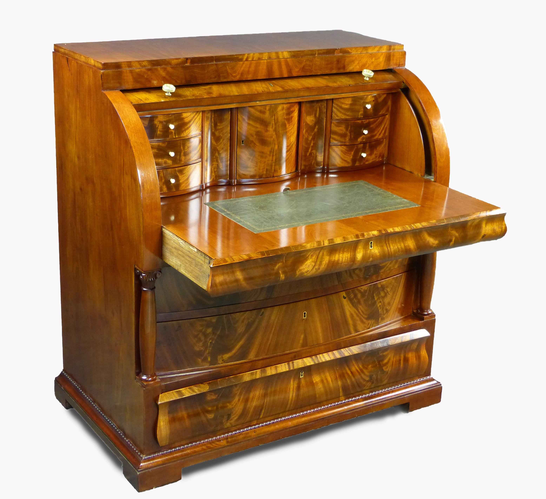 Bureau Canterano De Palma De Caoba De La Poca Del Renacimiento  # Muebles Caoba Sevilla