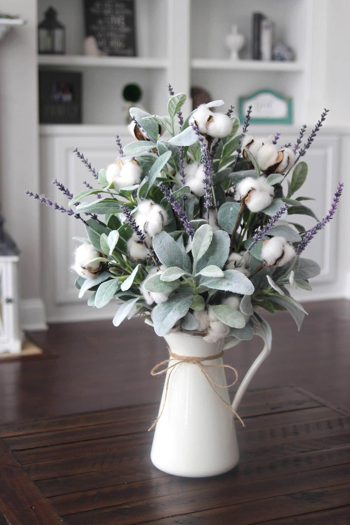 14 schöne Blumenarrangements im Landhausstil um Ihr Dekor aufzuhellen  Hause Dekore 14 beautiful floral arrangements in country style to brighten up your decor If yo...