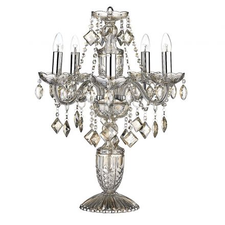 Valentine Crystal Lamp, Chandelier Bedside Lamps Australia
