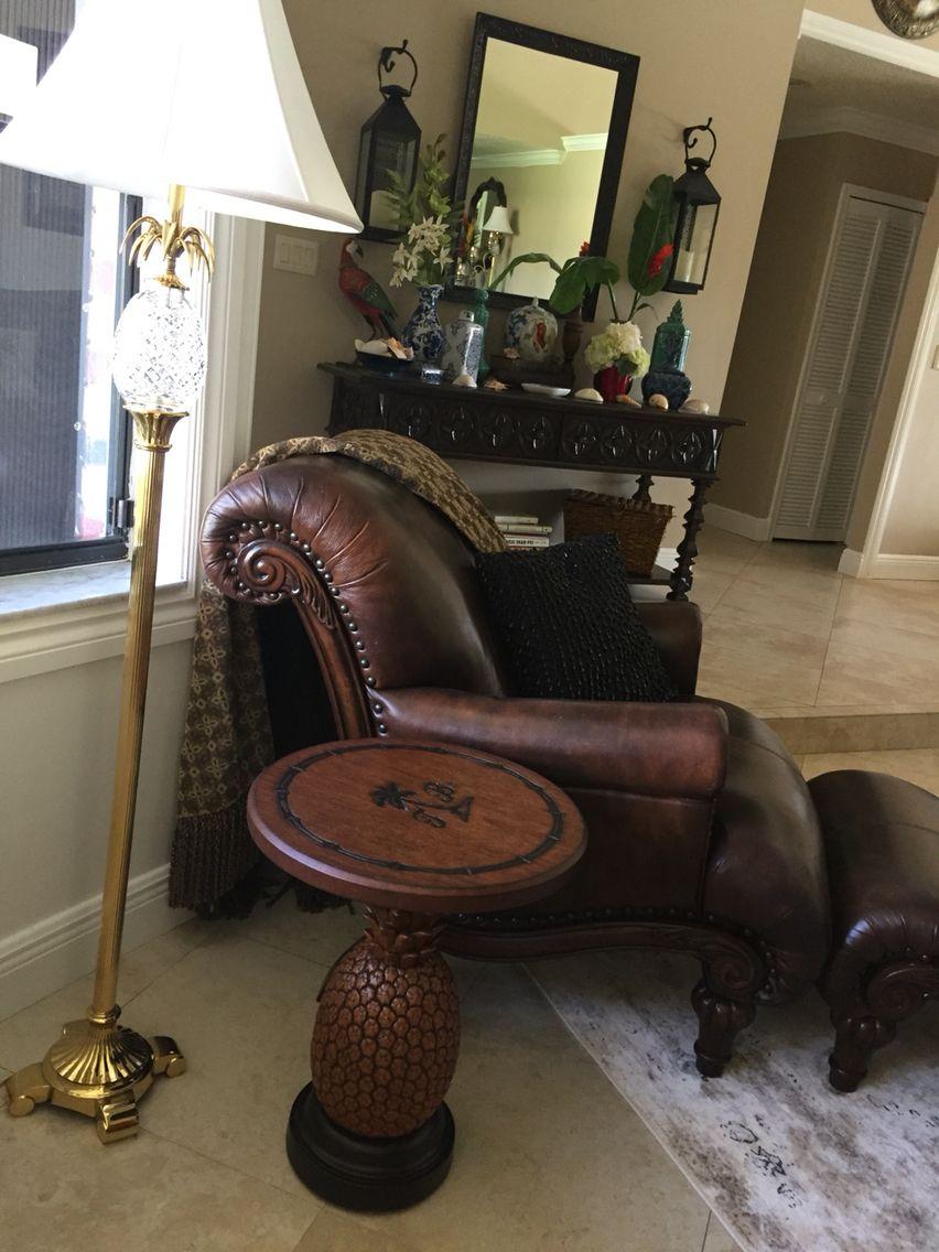 Tommy Bahama Pinele Table I Finally Got It Colonial Decor