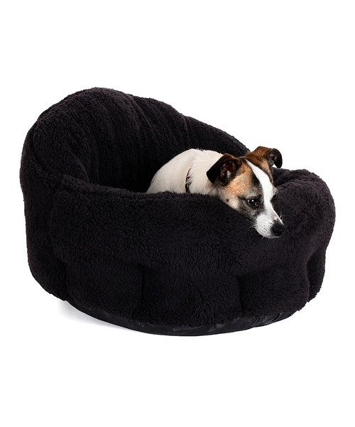 Look At This Black Deep Dish Cuddler Pet Bed On Zulily Today Pet Bed Cat Bed Pet Beds