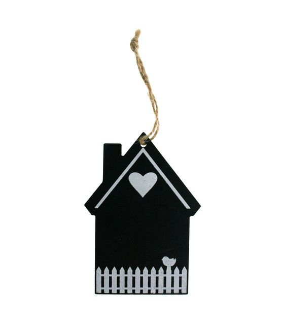 Make It Love It™  Chalkboard Plaque - Small Fence House