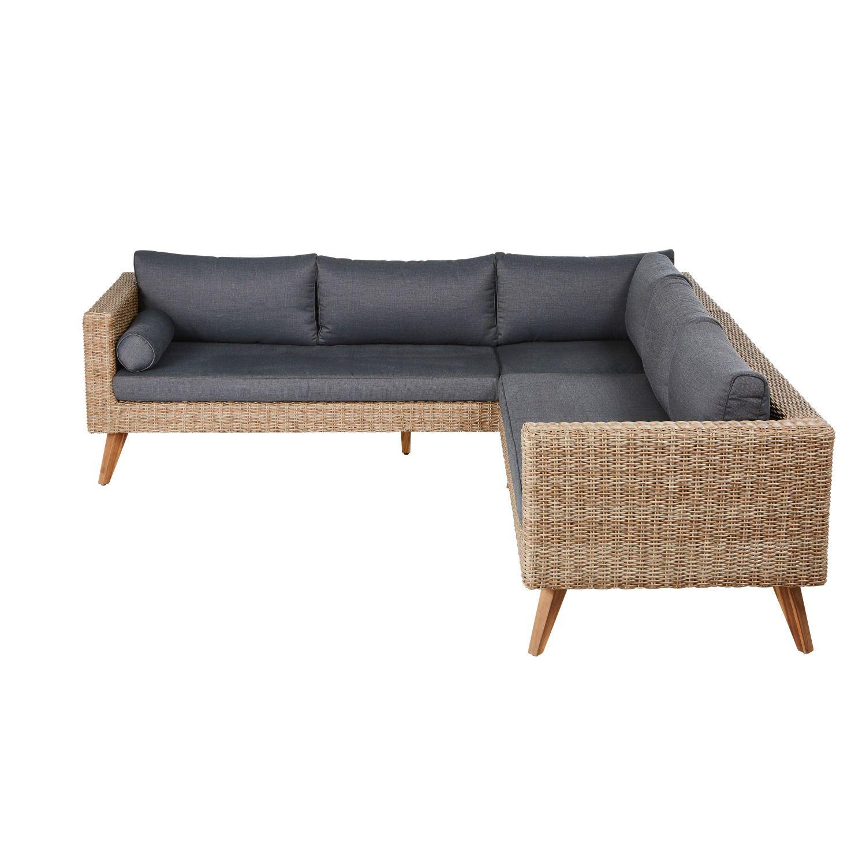 Outdoor Furniture Indoor Wicker Furniture Corner Sofa Garden Outdoor Sofa