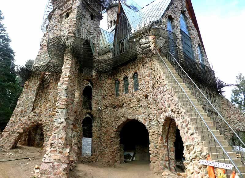 Замок Бишопа - творение, созданное одним человеком! - Путешествуем вместе