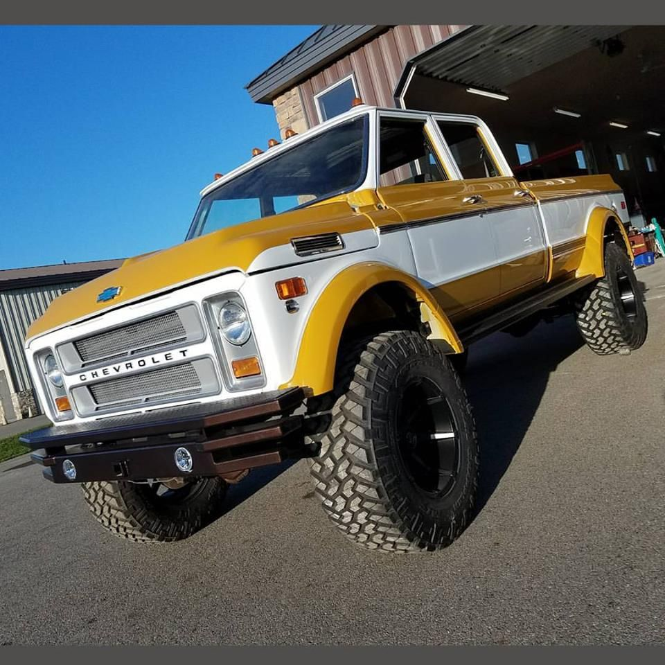 1972 chevy k50 crew cab built by rtech fabrications the duke old rigs pinterest duke. Black Bedroom Furniture Sets. Home Design Ideas