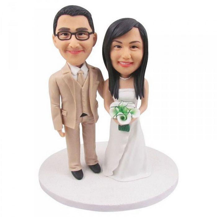 Cheap Custom Wedding Cake Toppers