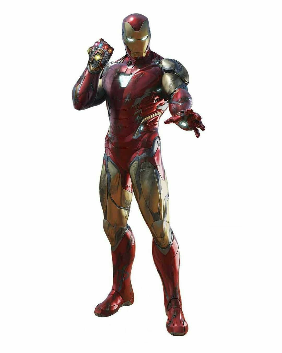 Ironman Mark 85 With Infinity Nano Gauntlet Marvel Iron Man Iron Man Art Iron Man Armor