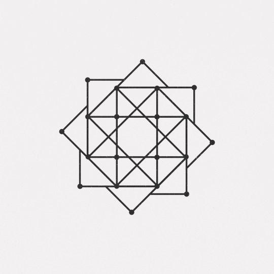 Daily Minimal Geometric Drawing Geometric Designs