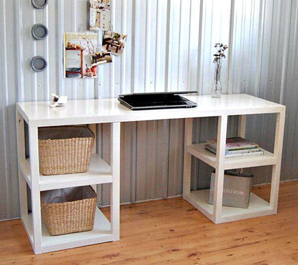 simple corner desk in white diy decor pinterest desks corner