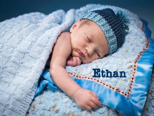 Los 20 nombres de bebé favoritos en EEUU