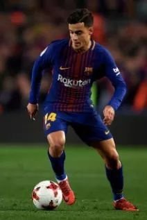 First Match for #Coutinho With #BARCA