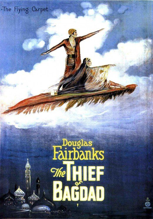 Silent film posters: The Thief of Bagdad
