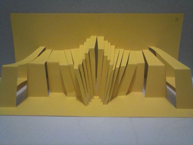 7- dobleces paralelos al eje de simetria varios niveles de volumen