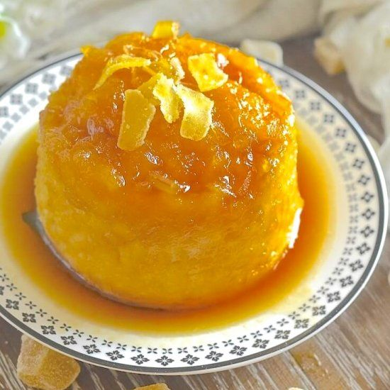 Easy Maple Ginger Steamed Pudding | Food recipes, Food ...