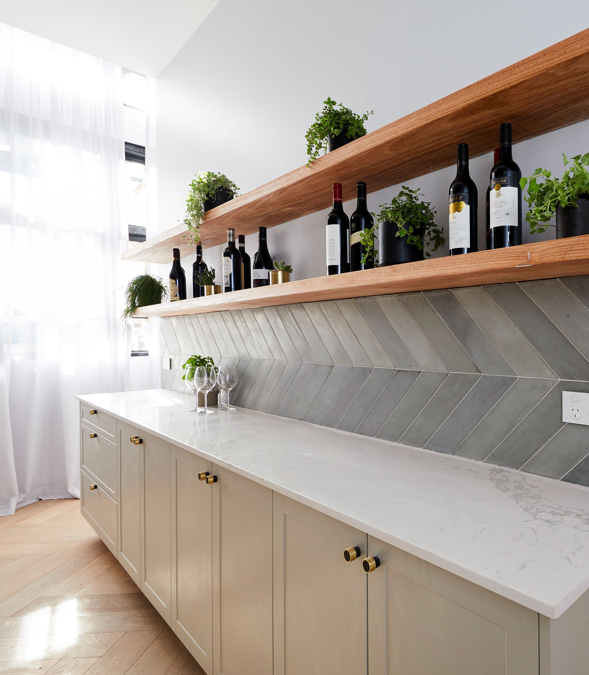 The Block 2018 kitchen reveals in 2020 Pantry design