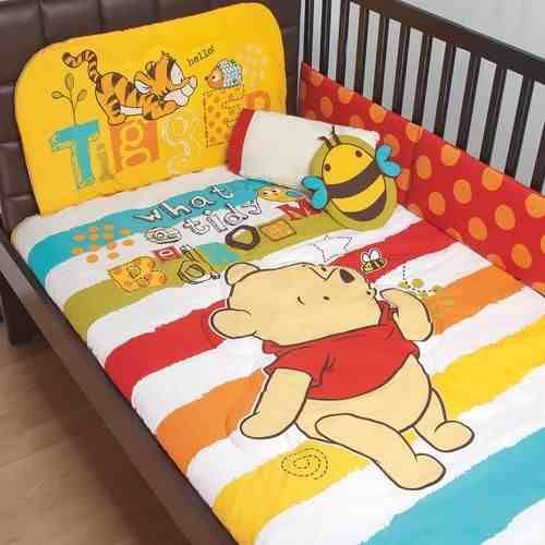 set de edredon para cuna de bebe winnie pooh baby disney   EDREDON ...