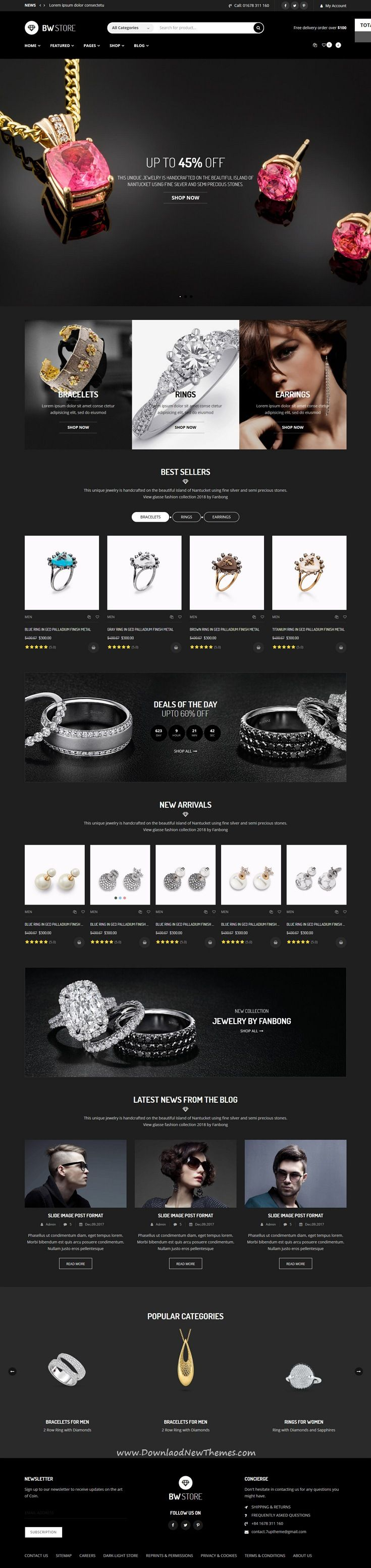 BW Store - eCommerce Html Template