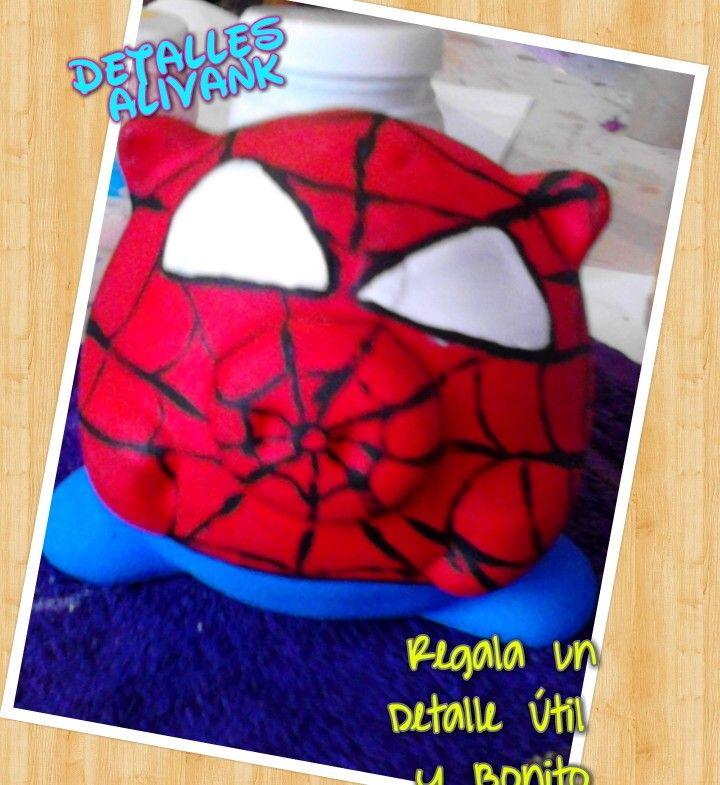 Alcancías personalizada Spider Man   en venta $$$$$