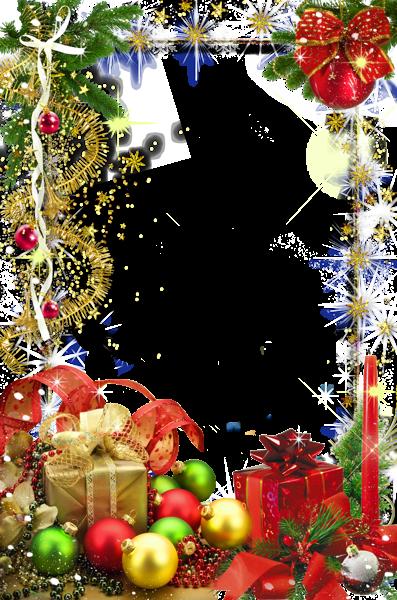 Transparent Christmas Holiday Photo Frame Holiday photo