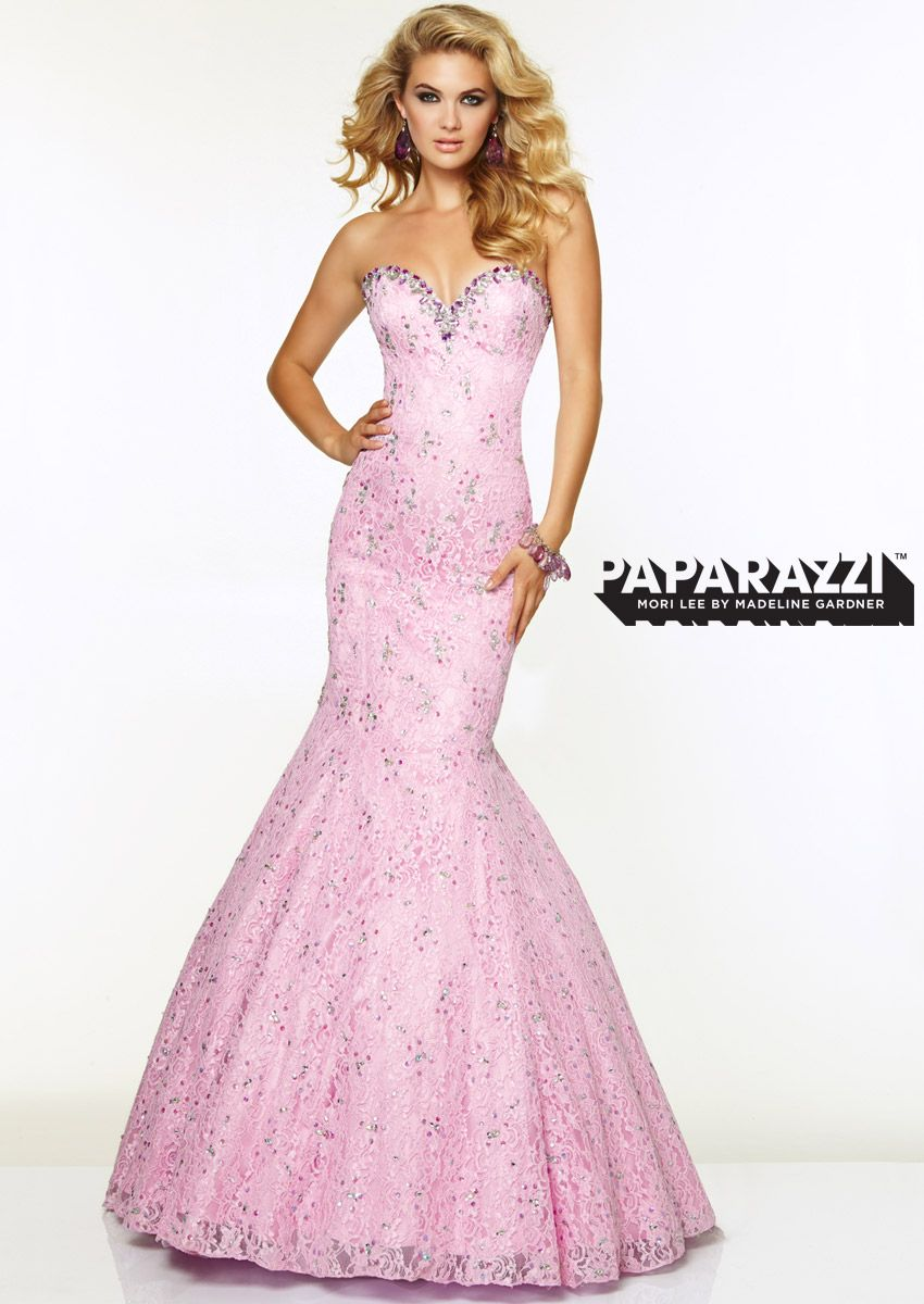 Lace with Jeweled Beading | Mori Lee Prom | Pinterest