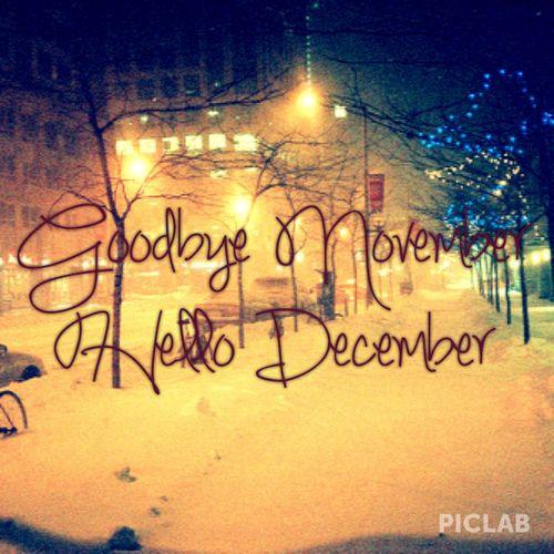 Goodbye November, Hello December