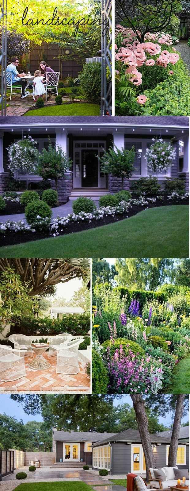 Landscaping ideas jardin pinterest jardines jard n for Ideas paisajismo jardines