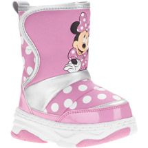 Walmart: Disney Minnie Mouse Toddler Girl's Light-up Winter Snow Boot